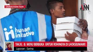 Takjil dan Menu Berbuka untuk Rohingya di Lhokseumawe