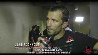 UFC Pittsburgh: Entrevista no backstage com Luke Rockhold