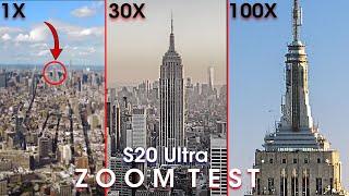 Samsung Galaxy S20 Ultra - ZOOM TEST
