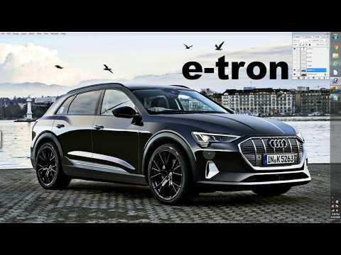 2019 Audi E-Tron – Spy Shot Render Preview