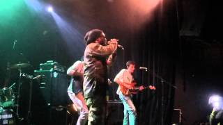 chezidek backed by green & fresh band a l'akwaba all my life (live)