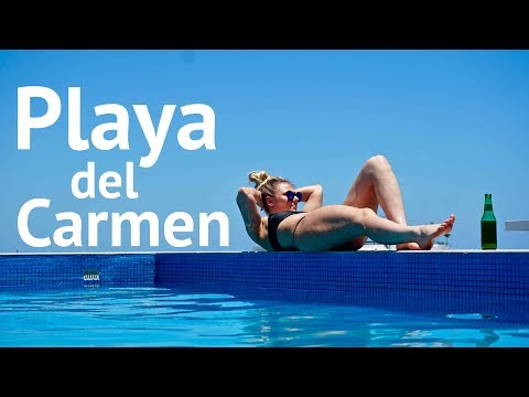 Playa Del Carmen – LOCAL LAGOON BEACH – TRAVEL VLOG DAY 2
