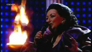 Montserrat Caballé - Barcelona (live in German TV - February 1, 2013)