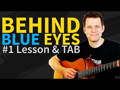 Stratovarius behind blue eyes ( cover the who ) with lyrics.