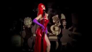 Jessica Rabbit Why Don't You Do Right? LIVE Cover A Halloween treat 2015