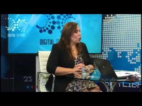 DIGITAL TV PERÚ ENTREVISTA A DECANA DEL CAL MARIA ELENA PORTOCARRERO ZAMORA