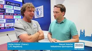 Trainer Krämer im Interview