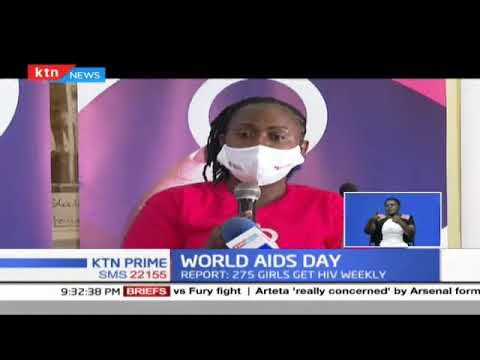 New statistics show about 275 young  girls are being  infected with HIV weekly