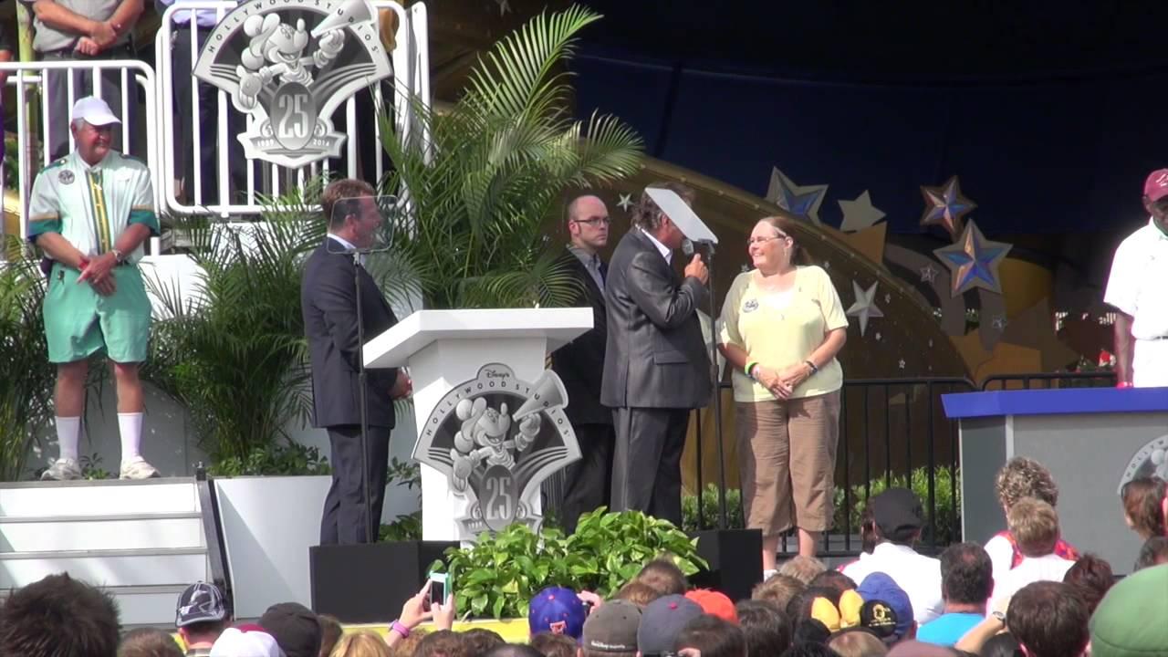 Disney's Hollywood Studios 25th Anniversary rededication ceremony