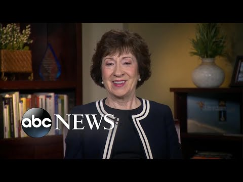 Sen. Susan Collins: Corker-Trump Twitter feud not 'very productive'