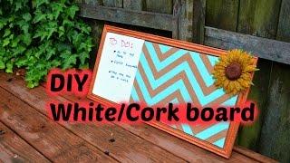 DIY White/Cork Board