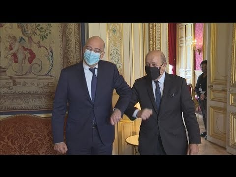 Στο Παρίσι ο υπουργός Εξωτερικών Νίκος Δένδιας