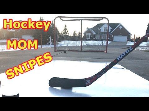 Kids HocKey Hockey Mom Snipe Session Steals Kids New Hockey Stick