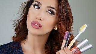 Как увеличить губы без операции и инъекции I Сделать губы больше с помощью макияжа