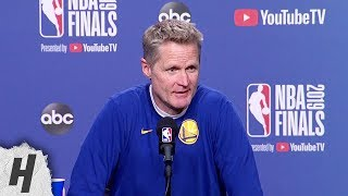 Steve Kerr Full Interview - Game 5 Preview   2019 NBA Finals Media Availability