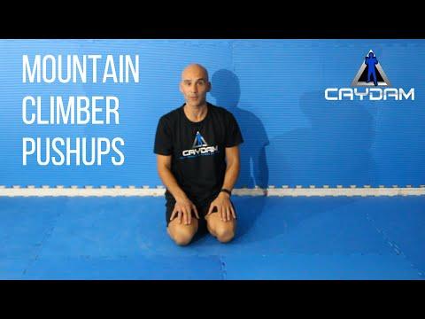 Mountain Climber Push-up