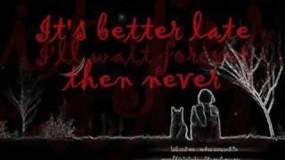 forever  by faber drive(lyrics)-lex