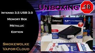 USB 3.0 HDD Intenso Memory Box 5 TB Metallic Black Edition