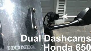 Honda CBR650F Dashcam INNOVV K2