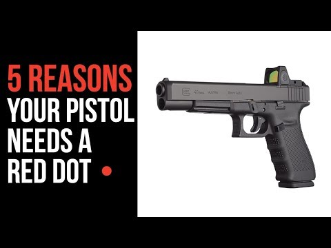 Top 5 Reasons To Consider A Red Dot On Your Pistol