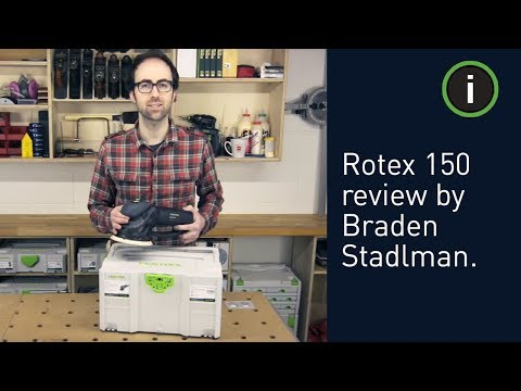 Festool Rotex 150 Multi-Mode Sander Review by Braden Stadlman