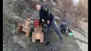 Стульчик для рыбалки своими руками из дерева