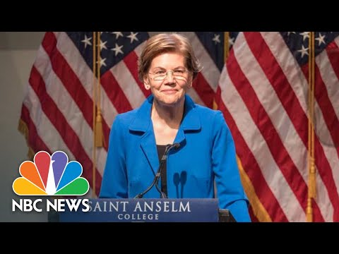 Senator Elizabeth Warren Promises 'Real Change' To Fight Economic Corruption | NBC News