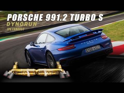 Dyno Run- The iPE titanium exhaust for Porsche 991.2 Turbo
