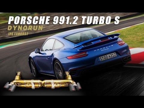 Dyno Run- The iPE titanium exhaust for Porsche 991.2 Turbo