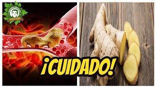 NUNCA CONSUMA JENGIBRE SI USTED TIENE CUALQUIERA DE ESTAS CONDICIONES - GUSTAVO DAVALOS