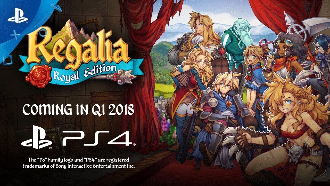 Regalia: Royal Edition — A European Tactical JRPG Coming to PS4