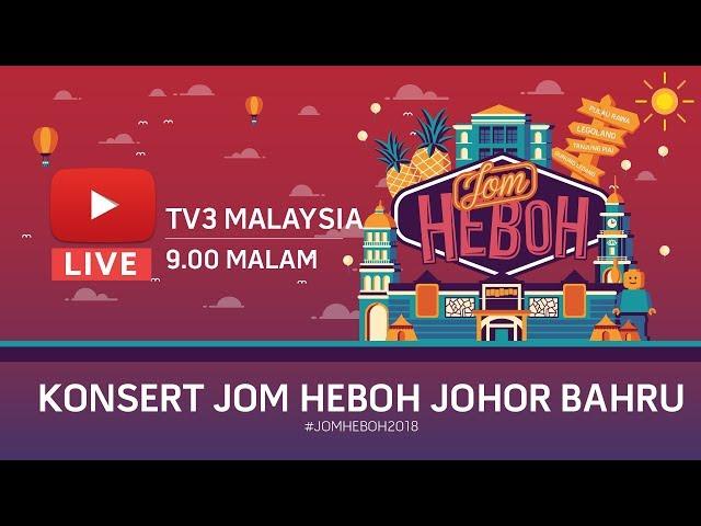 Konsert Karnival Jom Heboh Johor Bharu
