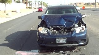 DONTAE GETS REAR ENDED BY DRIVER (UNDER THE INFLUENCE) ON THE WAY TO CANELO-COTTO PRESS CONFERENCE