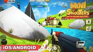 Mini Shooters: Battleground Shooting Game - iOS / Android Gameplay