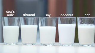 Are plant milks healthier choices than cow's milk?