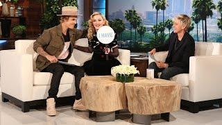 Ellen's Favorite Moments: Madonna And Justin Bieber Play Never Have I Ever