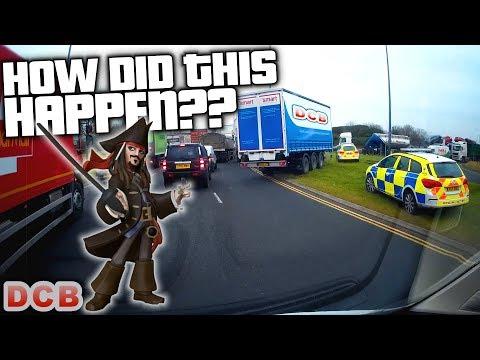 📸 UK Dash Cam PIRATES DID THIS!!!! 4 Minute Fridays #13