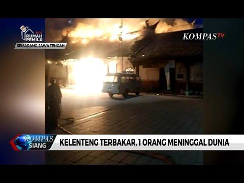 Kelenteng Tjie Lam Sai di Semarang Terbakar, 1 Orang Meninggal