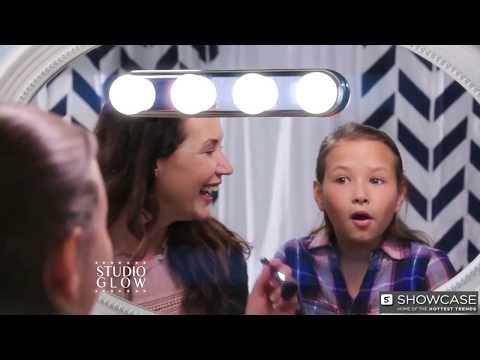 youtube STUDIO GLOW (Студио Глов) - лампа для макияжа