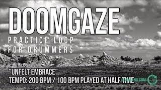 """DoomGaze - Drumless Track For Drummers - """"Unfelt Embrace"""""""