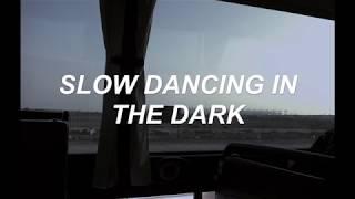 Joji - SLOW DANCING IN THE DARK (lyrics)