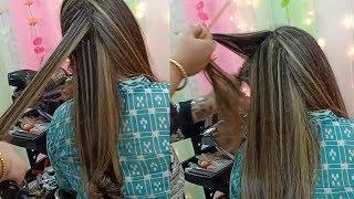 Hair Highlights For Black Hair    Hair Tutorial  2019    Nazia Khan