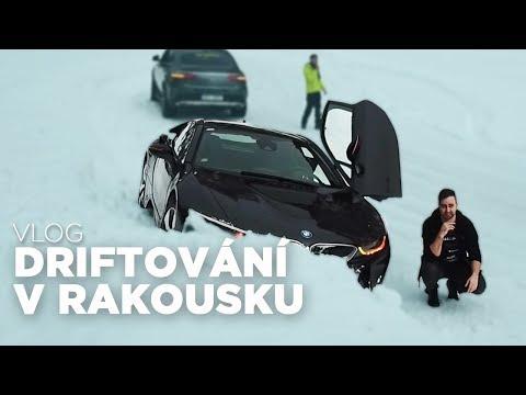 Driftování v Rakousku - BMW i8 na sněhu [ VLOG ]
