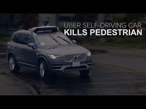Uber self-driving car kills a pedestrian (CNET News)