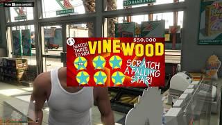GTA V - San Andreas Lotto & Chicken Tendies Challenge MODS