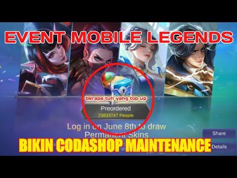 Codashop maintenance KOK BISA....!!!!!