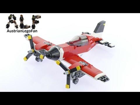 Vidéo LEGO Creator 31047 : L'avion à hélices