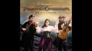 He's a Pirate (Disney's Pirates of the Caribbean Theme) Trio Amadeus harp cover - Piratas do Caribe