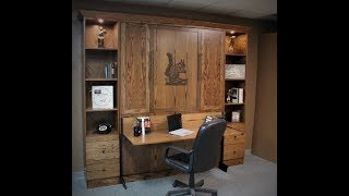 Hunting Club Murphy Bed