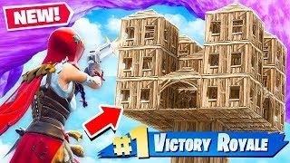 PISTOL ONLY vs SKYBASE in Fortnite Battle Royale